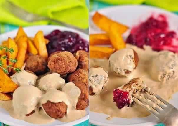Meatballs With Cream Sauce Recipe