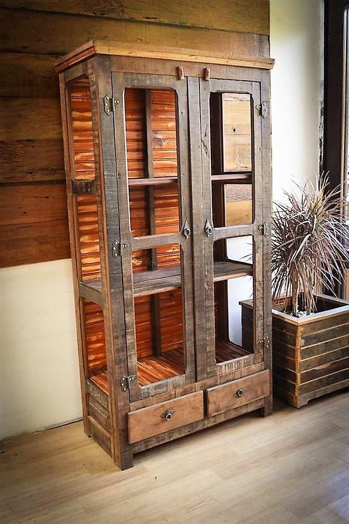 pallet hutch diy ideas