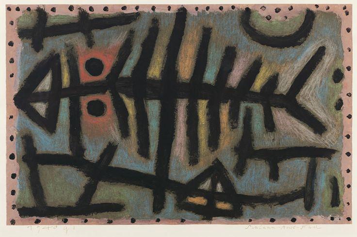 Paul Klee Schlamm-Assel-Fisch 1940.jpg