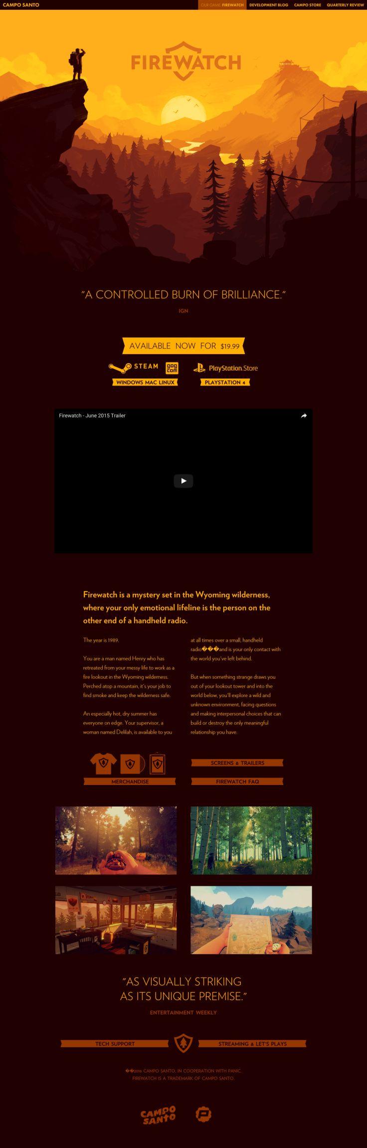Website firewatchgame.com