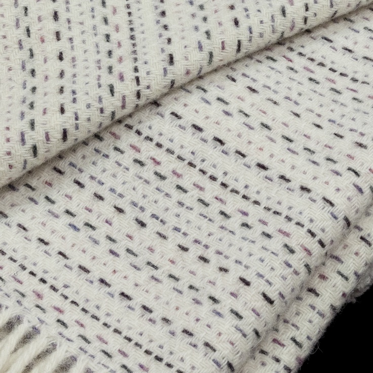 £145 A gorgeous hand woven throw designed and produced by award-winning designer Jennifer Jones,  inspired by the colours and textures of Britain's indigenous Silver Birch trees was designed in Hampshire, the yarns were spun, dyed and woven in traditional weaving and spinning mills in Yorkshire.