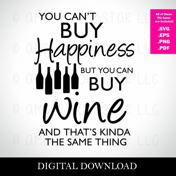 Download SVG Digital Download - You Can't Buy Happiness but You Can ...