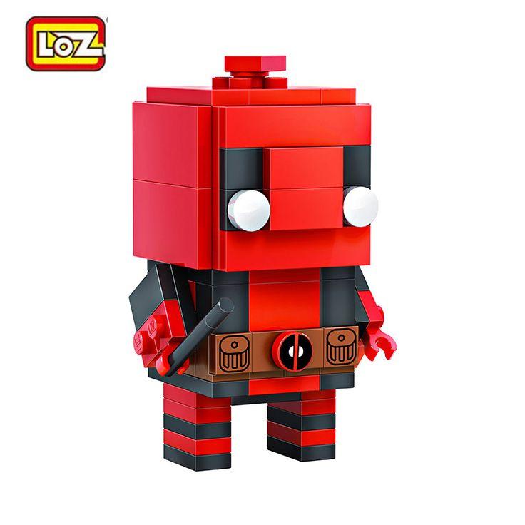 $9.17 (Buy here: https://alitems.com/g/1e8d114494ebda23ff8b16525dc3e8/?i=5&ulp=https%3A%2F%2Fwww.aliexpress.com%2Fitem%2FLOZ-Mini-Building-Blocks-Super-Hero-Series-Deadpool-Iron-Man-Panther-Doctor-Strange-2In1-Cartoon-Model%2F32787397299.html ) LOZ Mini Building Blocks Super Hero Series Deadpool Iron Man Panther Doctor Strange 2In1 Cartoon Model DIY Aseembly Toys for Kid for just $9.17