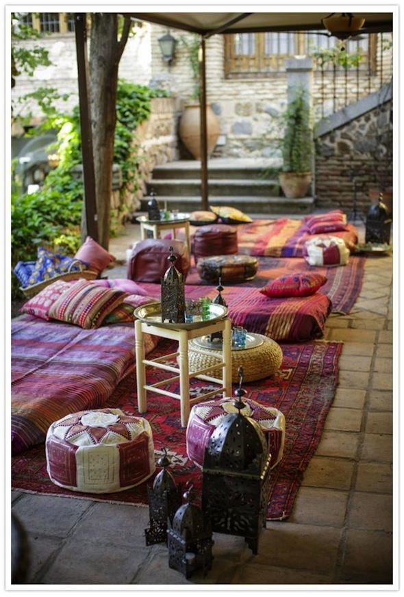 40 best images about chill out zone on pinterest for Decoration jardin boheme