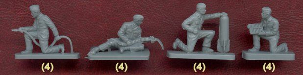Plastic Soldier Review - Airfix WWII Luftwaffe Personnel
