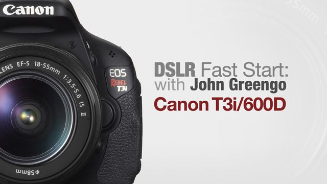 Join John Greengo for an in-depth step-by-step tour of the Canon Rebel T3i (known in Europe as the Cannon EOS 600D). With a hands-on intr...
