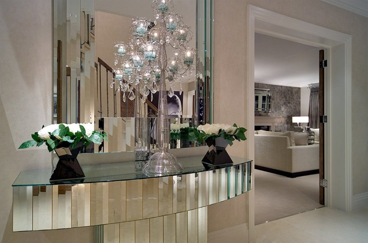 Beverly Foyer Mirror : Best images about quot mirrored console furniture on