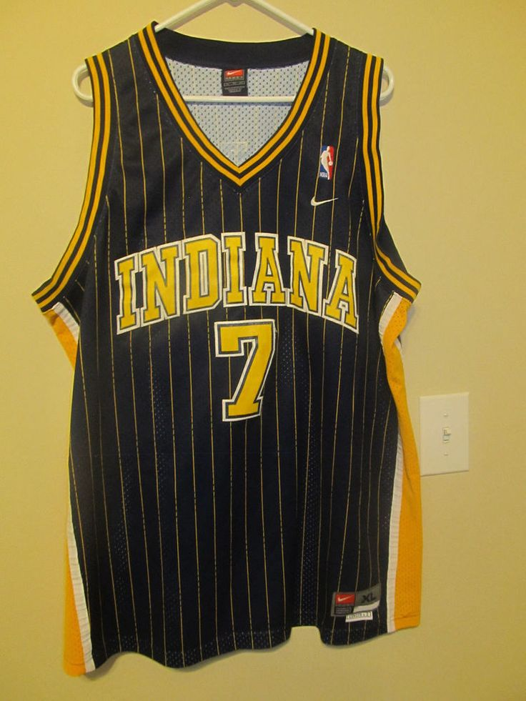 Jermaine O'Neal  - Indiana Pacers Authentic jersey - Nike Adult XL #Nike #IndianaPacers
