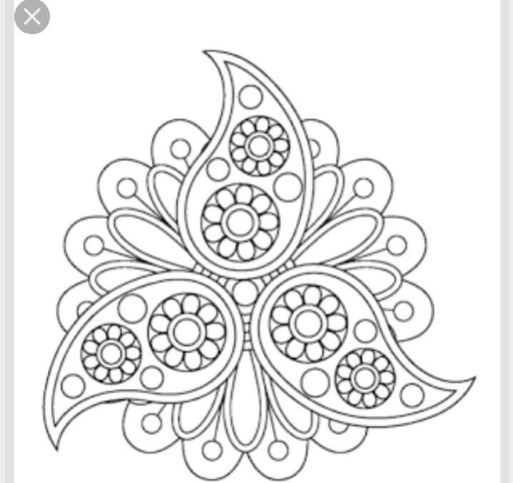 Mandala Embroidery Patterns Embroidery Patterns