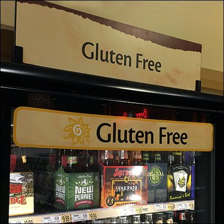 theres nothing like gluten free beer at least thatws what gluten - Beer Merchandiser