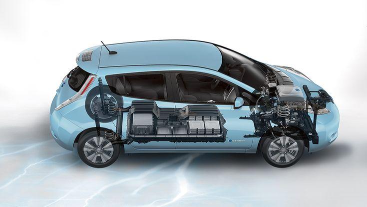 Nissan LEAF®, Electric Car, MorningSky Blue, Nissan, EV, Cars