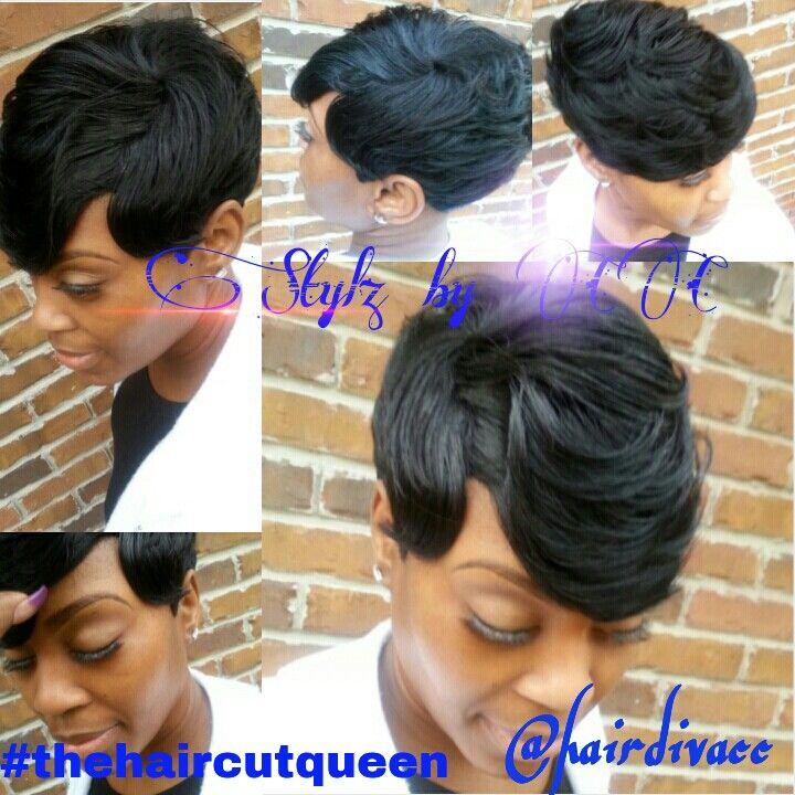 Short Quickweave Quickweave Styles Pinterest Short Hair