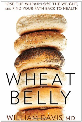 Wheat Belly: Lose the Wheat, Lose the Weight, and Find Your Path Back to Health by William Davis http://www.amazon.com/dp/1609611543/ref=cm_sw_r_pi_dp_VUN9tb14YVSK7