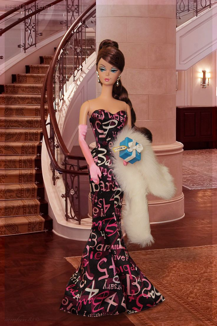 "B day. On March 9, 1959, Barbara Millicent Roberts was born. Barbie® was introduced to the world at the American International Toy Fair in New York as a ""teenage fashion model"", and in the years since, she has indeed become the world's most renowned fashion model. Happy 54th birthday, Barbie®! In this photo: 45th Anniversary Barbie® Doll"