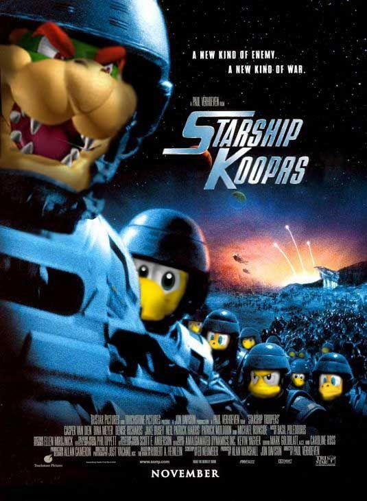 Super Mario Saga + Starship Troopers