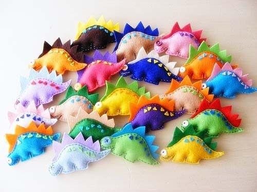 Aww cute little dinosaurs