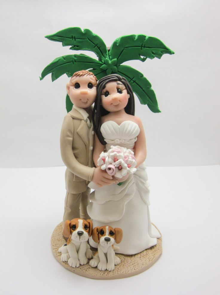 Wedding Cake Toppers Tall Groom Short Bride