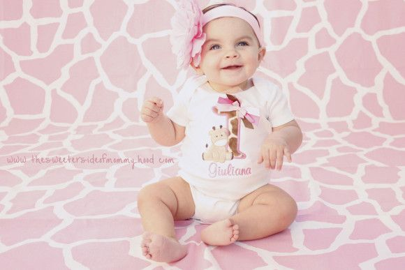 The Sweeter Side of Mommyhood » G's First Birthday Photo Shoot