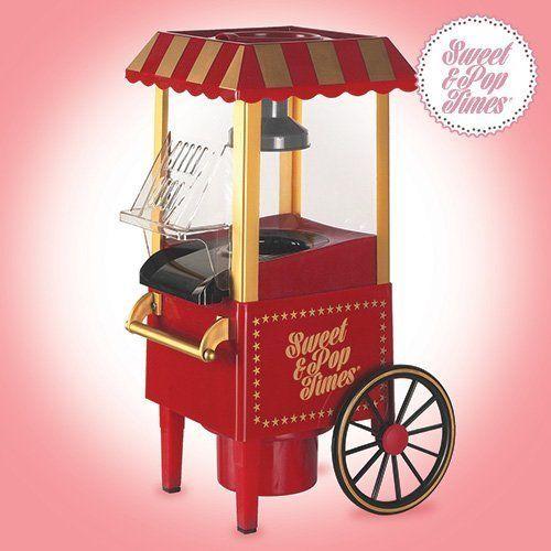Palomitero Vintage Modelo Carrito Antiguo Maquina Palomitas de Maiz Sweet & Pop