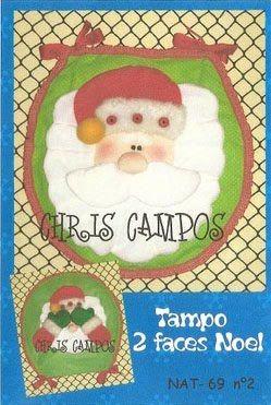 juego de baño de Papá Noel