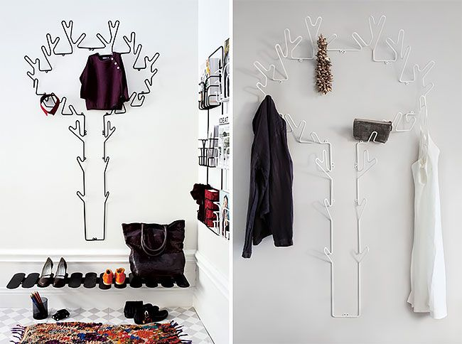 These Nature Inspired Wall Hooks Are A Creative Twist To The Traditional Hanger