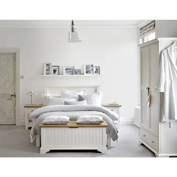 Give your bedroom a tranquil feel with classic furniture and a muted palette of soothing shades. Use soft layers, wooden textures and gentle prints to add to the calming look