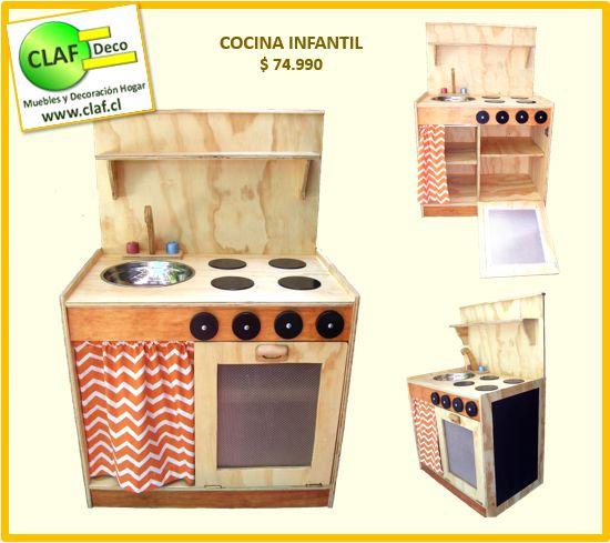 62 best infantil images on pinterest cl atelier and for Cocina para ninos