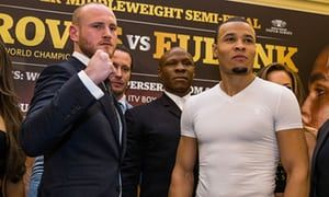 George Groves issues Chris Eubank Jr's pedigree soon after 'old man' taunts