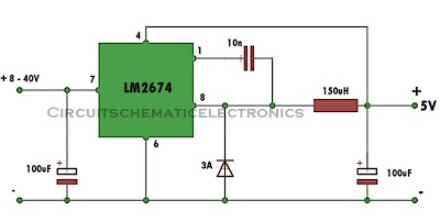 Switch Mode Power Supply Circuit Schematic Diagram