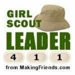 Girl Scout Leader 411! This blog has tons of ideas, activities, craft, games, printables, songs and more. All the help you need is here, check it out http://www.makingfriends.com/girl-scout-leader/
