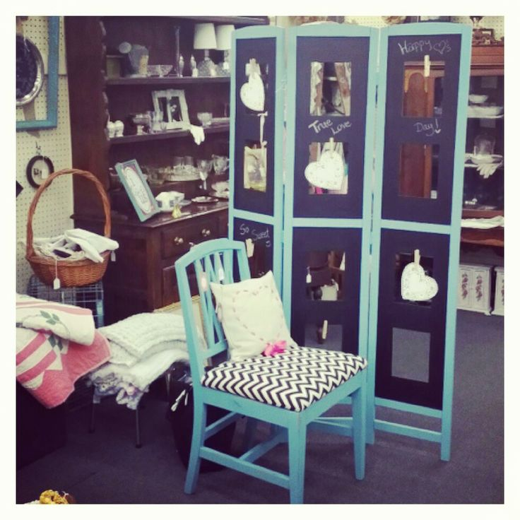 Teal, chevron, and chalkboard...what more could you ask for!?! Sweetashleyscottage.com
