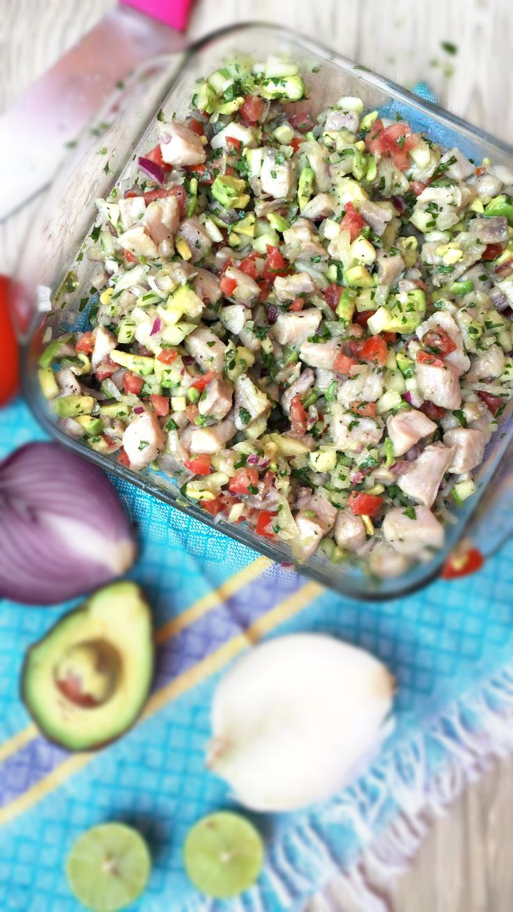Easy Mexican Ceviche