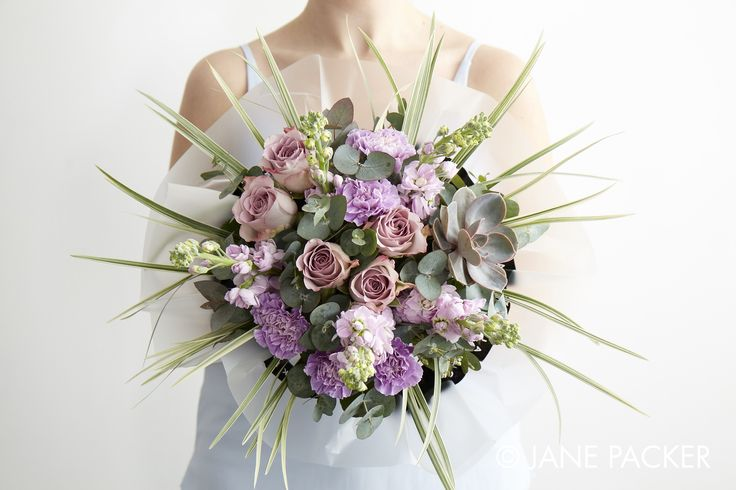 """Fig"" bouquet from the Jane Packer Online Collection - Summer Fruits 2016"