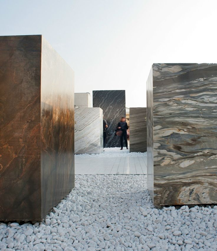 The Italian Stone Theatre at Marmomacc 2015 #marble @marmomacc