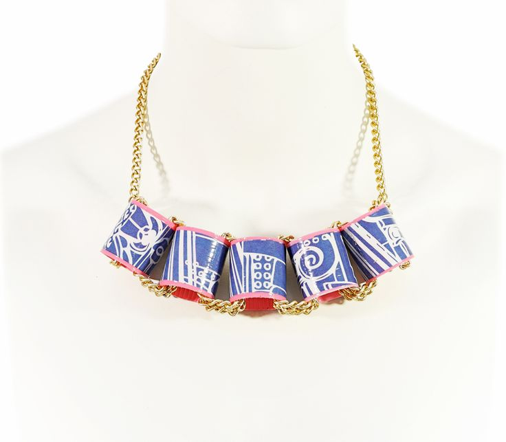 ROLLIN AROUND Collection SS 2013 | TRASH4FLASH Necklace | SHOP@ http://trash4flash.bigcartel.com/