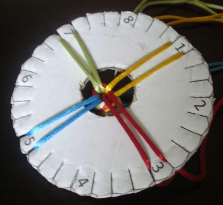Instrukcja jak zrobić dysk do kumihimo po kliknięciu w zdjęcie
