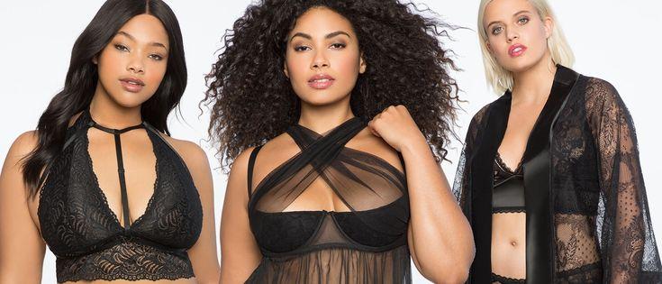 #PlusModelMag Eloquii Redefines Sexy in Plus Size Lingerie Collection #PLUSmodelmag