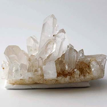 This Is A Beautiful Clear Quartz Crystal Cer With Large Points Size Roximately