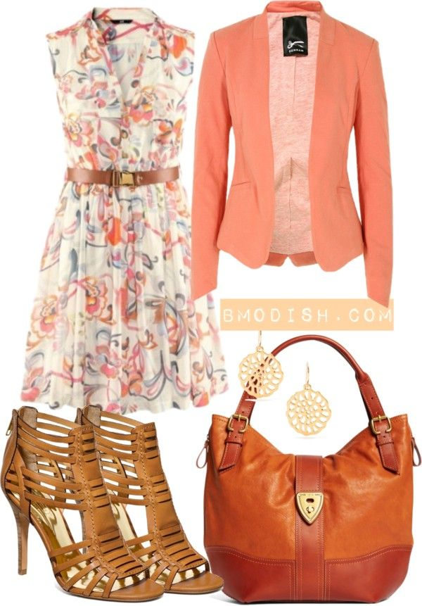 """Spring outfit"" by wulanizer on Polyvore something just screams southern sunday to me"