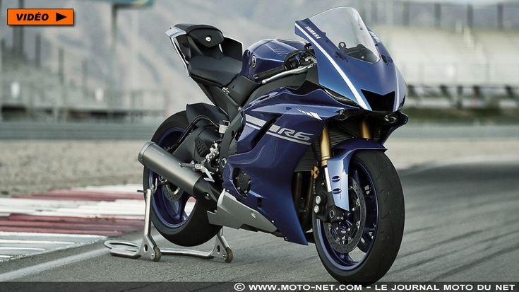 Nouvelle Yamaha R6 2017 : premières informations, photos et vidéo