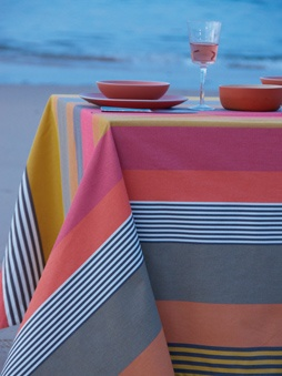Striped canvas fabrics from tissage de luz espelette france pinterest - Tissage de luz espelette ...