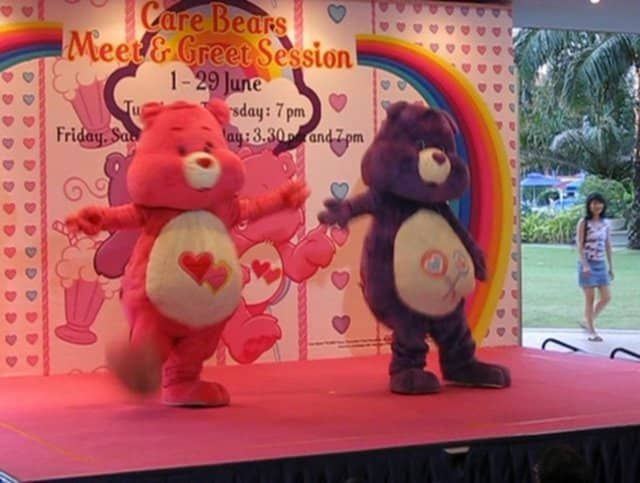 care bears meet fun shine bear belly