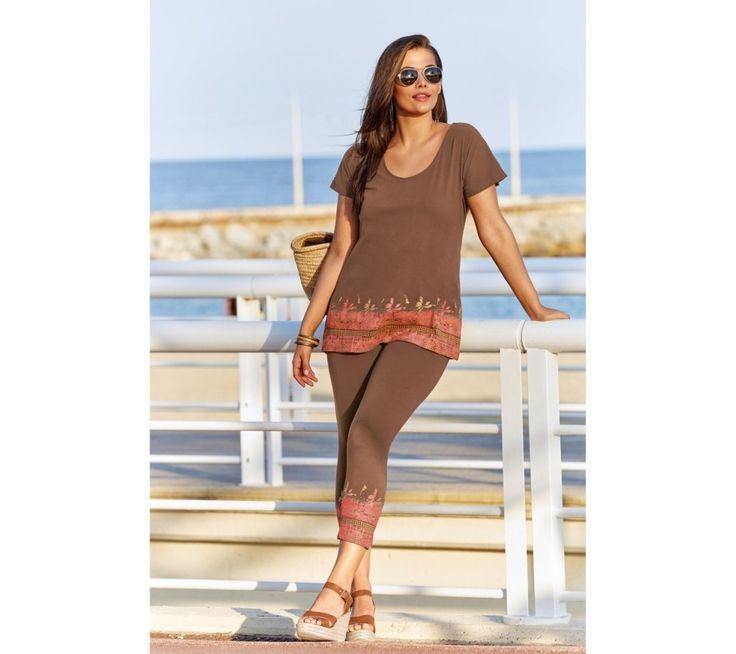 Souprava tričko a korzárské kalhoty | modino.cz #ModinoCZ #modino_cz #modino_style #style #fashion #set #bellisima