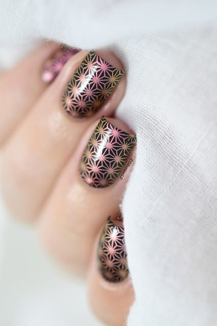 Flowers stamping