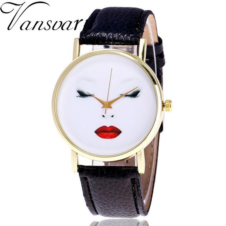 $2.69 (Buy here: https://alitems.com/g/1e8d114494ebda23ff8b16525dc3e8/?i=5&ulp=https%3A%2F%2Fwww.aliexpress.com%2Fitem%2FVansvar-Brand-Fashion-Women-Quartz-Watch-Vintage-Leather-Makeup-Artist-Face-Watch-Casual-Ladies-Wrist-Watches%2F32794717795.html ) Vansvar Brand Fashion Women Quartz Watch Vintage Leather Makeup Artist Face Watch Casual Ladies Wrist Watches Montre Femme V40 for just $2.69