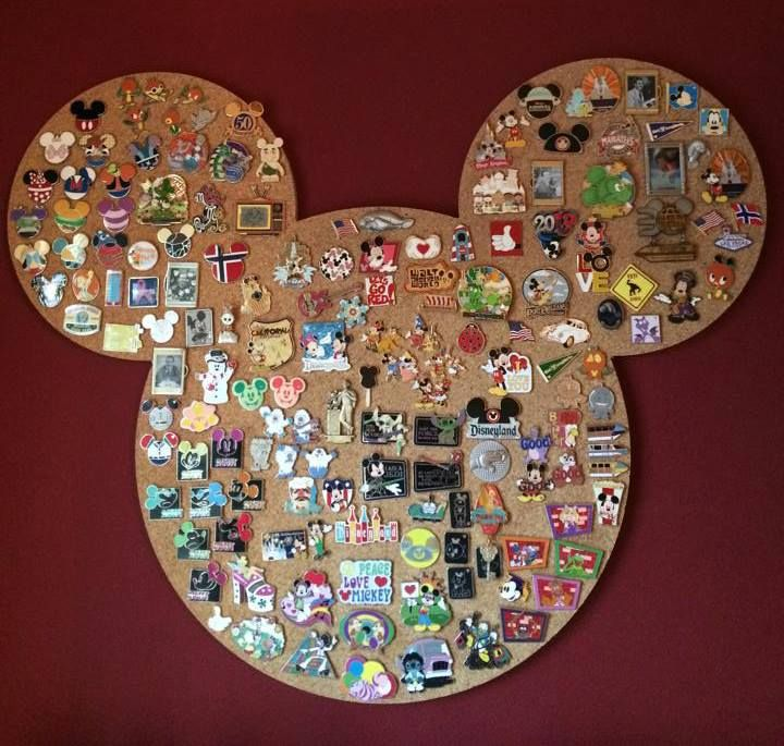 Order one of these great custom cork boards here: http://www.uniquecork.com/pin-collecting.html