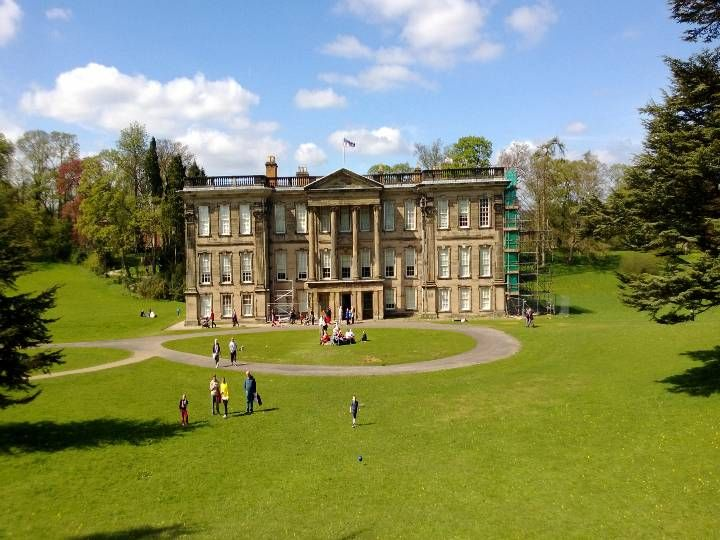 Calke Abbey in Ticknall, Derbyshire