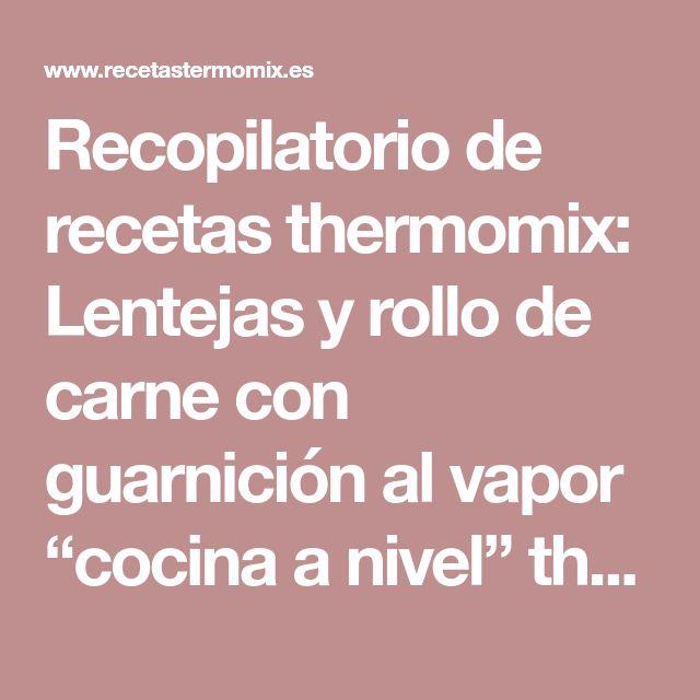Cocina Al Vapor Thermomix | As 25 Melhores Ideias De Carne Thermomix No Pinterest Recetas