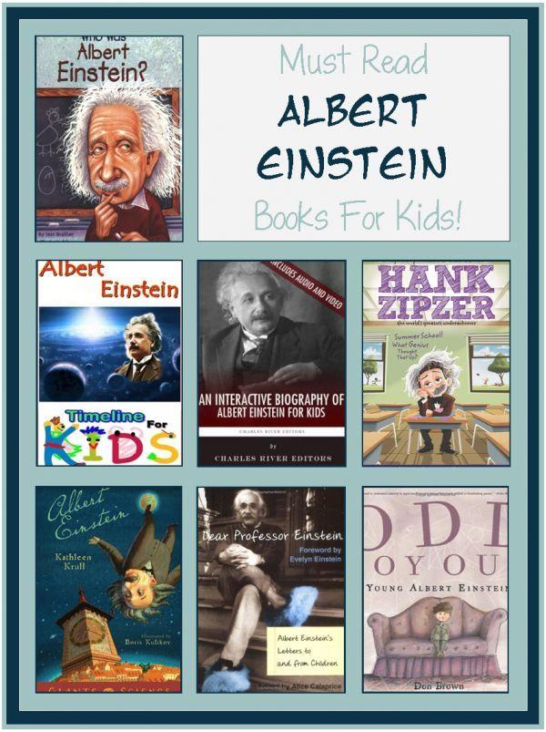 books for kids: all about Albert Einstein