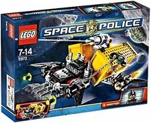 LEGO Space Police Set #5972 Space Truck Getaway [Container Heist]